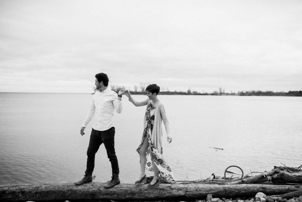 Outdoor wedding photographer Toronto