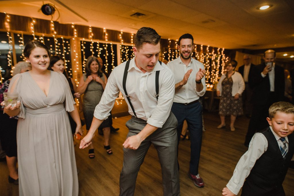 Bayview Wildwood Resort Wedding - dance moves