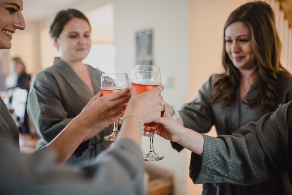 Bayview Wildwood Resort Wedding - cheers to the bride