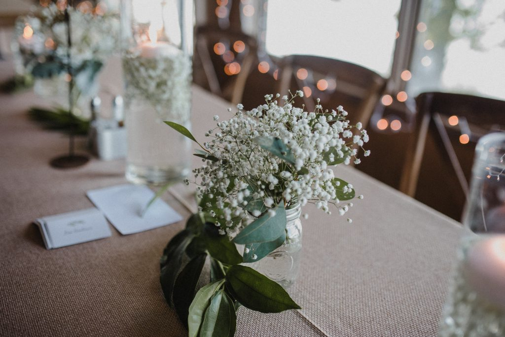 Bayview Wildwood Resort Wedding - table decor