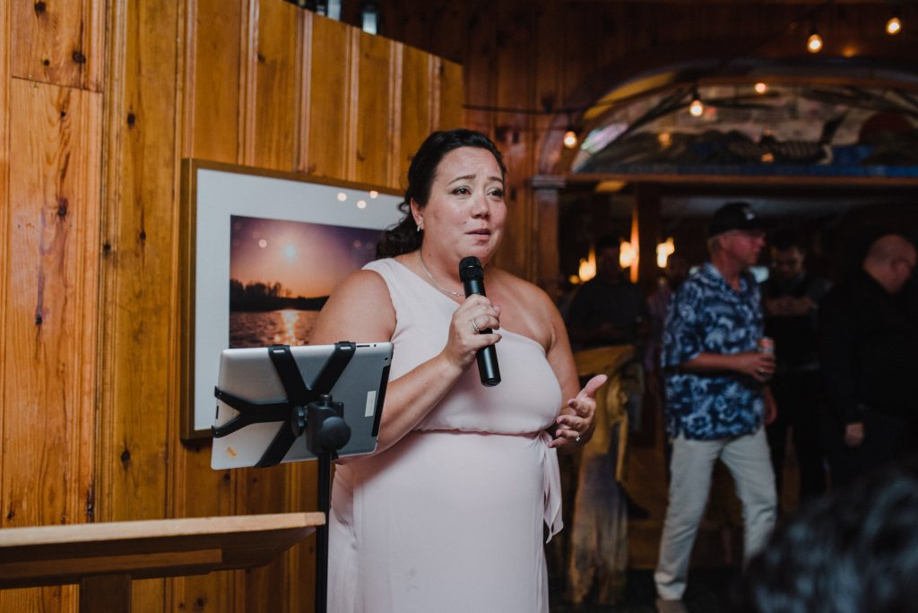 Bonnieview Inn Wedding - speeches