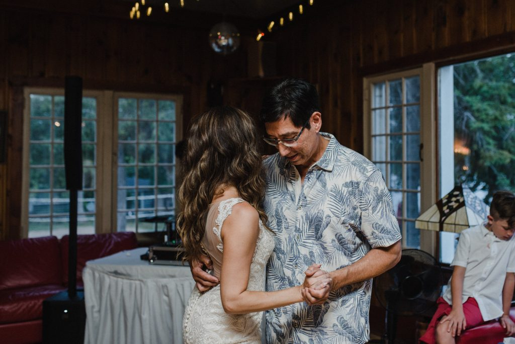 Bonnieview Inn Wedding - father daughter slow dance