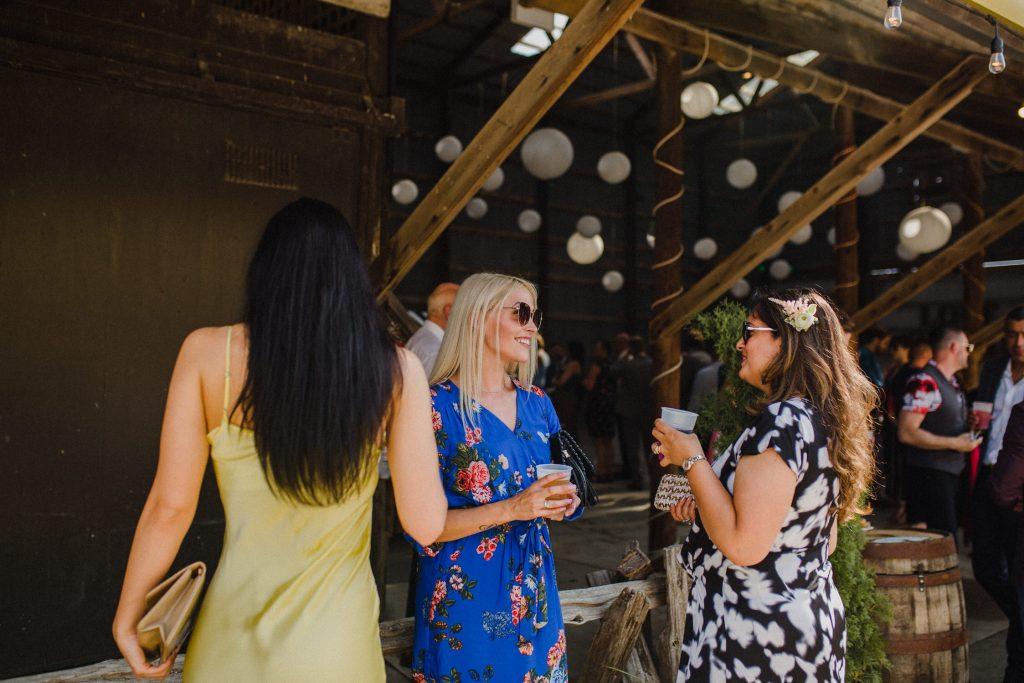 dyment's farm wedding - wedding guests