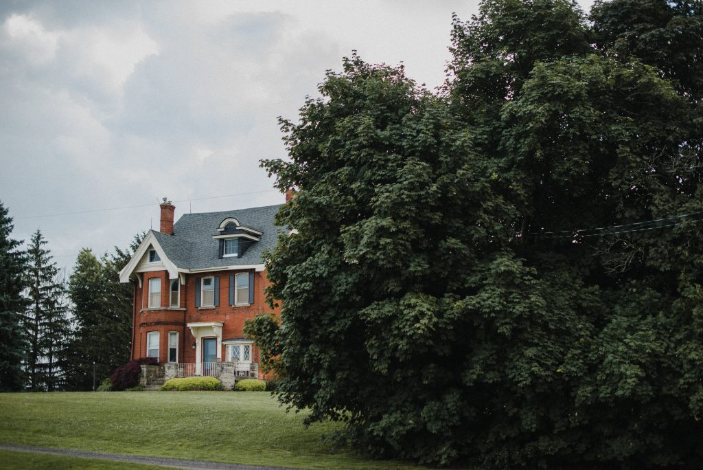 dyment's farm wedding - farm house
